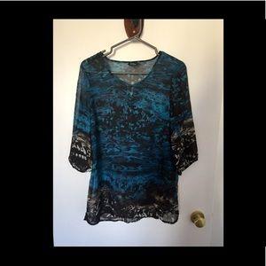 🌿❗️- REITMANS - light fabric blouse